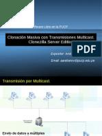 Clonacion Masiva Usando Transmisiones Multicast Con Clonezilla Server