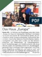 Europatag 2009