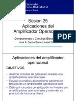 Aplicaciones Del Amplificador Operacional