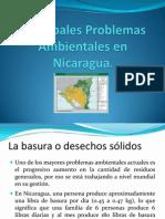 Principales Problemas Ambientales en Nicaragua