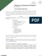 Convocatoria Nacional 2013 2