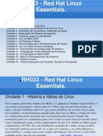 RH033 - Red Hat Linux Essentials (Portugues)