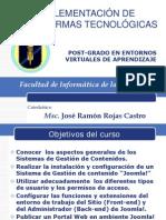 Joomla curso - presentacionjosefinal
