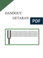 Handout Getaran