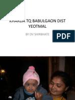 Kharda Tq Babulgaon Dist Yeotmal