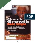 Church Growth Made Simple