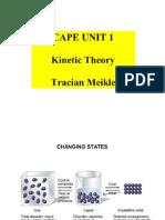 CAPE Unit 1 Kinetic Theory