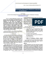 Analysis of the Mediterranean States' Power Markets in connection to DESERTEC