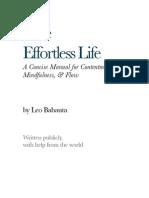 Leo Babauta - The Effortless Life