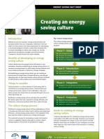 AUS - Creating and Energy Saving Culture