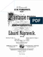 Napravnik - Fantaisie Russe, Op.39