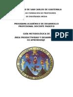 Guía Metodológica Productividad y Desarrollo y su aprendizaje 1(3)