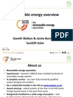 SunGift Solar DBCP Seminar 11 May 2012