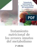 Tratamiento Nutricional de Errores Innatos Del Metabolismo 2da
