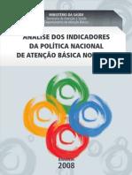 Analise Indicadores Politica Nacional Atencao Basica Brasil