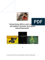 Ad Ethics & Surrogate Ads