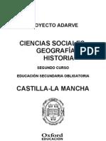 Ciencias Sociales Geografia e Historia 2 Eso Castilla La Mancha Adarve