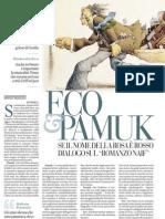 Un Incontro Con Orhan Pamuk Ed Umberto Eco - La Repubblica 10.04.2013