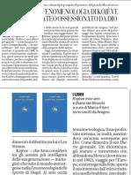 Fenomenologia di Kojève, ateo ossessionato da Dio - La Repubblica 10.04.2013
