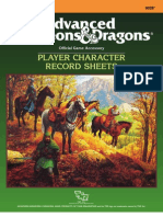 TSR - 9028 - REF2 - Player Character Sheet
