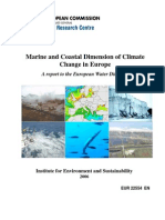Marine and Coastal Dimension of Climate Change in Europe