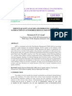 Service Quality Analysis and Improving Customer Satisfaction in Automobile