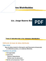 Base de Datos Distribuidas 12 Reglas