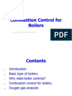 Combustion Control for Boilers