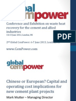 Global Cem Power 2012 Mutter