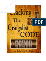 Cracking the Craigslist Code