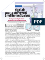 A Bit of Extra Lab Effort Can Prevent Grief During Scaleup