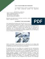 Aleaciones NO Ferrosas 2007 2