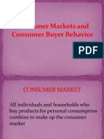 Customer Market and Buying Behaviour