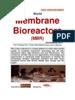 World Membrane BioReactors Conference 2011
