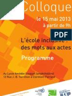 Programme Web