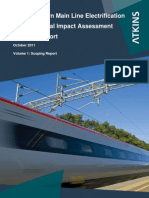 GWML Electrification, Environmental Impact Assessment Scoping Report