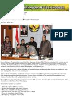 Kementerian Agama RI - SKB Hari Libur Nasional Dan Cuti Bersama Tahun 2013 Ditandatangani
