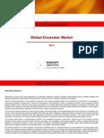 Global Excavator Market Report