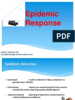 Epidemic Response
