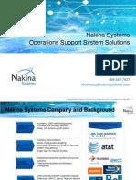Nakina Systems  Brief 2013