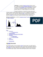 Adaptive Histogram Equalization is a Computer Image Processing Technique Used to Improve Contrast