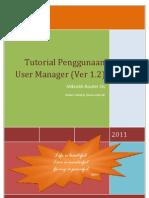 Ebook Panduan Penggunaan User Manager v1.3 2011