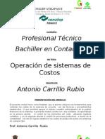Portafolio de Evidencias de Operacion de Sistemas de Costos