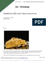 Crostata Con Mele e Noci -Tarta Cu Mere Si Nuci _ Il Menu Di Angela - Homepage
