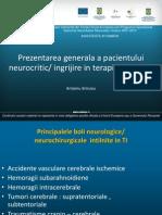 25 Prezentarea Generala a Pacientului Neurocritic
