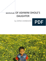 BARASE OF ASHWINI DHOLE'S DAUGHTER