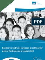 Explicarea Cadrului european al calificărilor