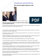 RSPCA Staff Husband Kills Budgie