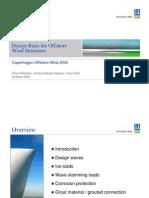 P.petersen Design Basis for Design of Offshore Wind Pp