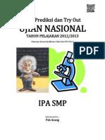 Soal Prediksi UN IPA SMP 2013